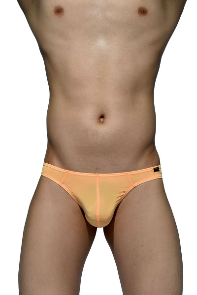 Orange - Private Structure Desire Glaze Thong DGEMU3545BT - Front View - Topdrawers Underwear for Men