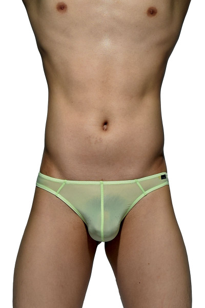 Lime - Private Structure Desire Glaze Thong DGEMU3545BT - Front View - Topdrawers Underwear for Men