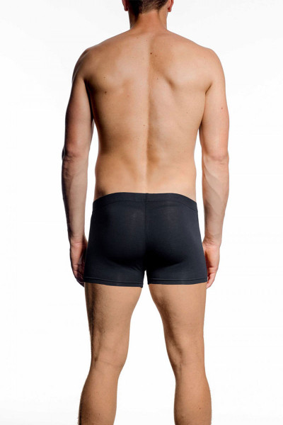 001 Black - JM NATURA Pouch Boxer 90327 - Rear View - Topdrawers Underwear for Men