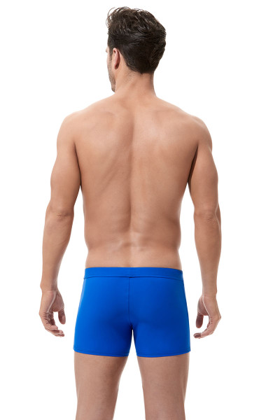 Royal Blue - Gregg Homme Exotic Swim Boxer Brief 161205 - Rear View - Topdrawers Swimwear for Men