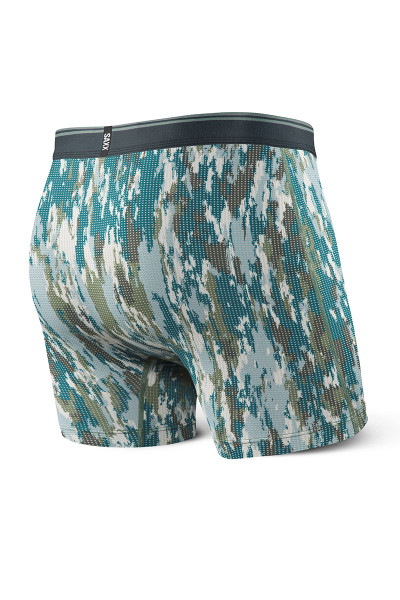 BCA Bark Camo - Saxx Quest 2.0 Boxer Brief w/ Fly SXBB71F -  Rear View - Topdrawers Underwear for Men