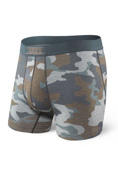 GSC Grey Supersize Camo  - Saxx Vibe Boxer Brief Modern Fit SXBM35 -  Front View - Topdrawers Underwear for Men