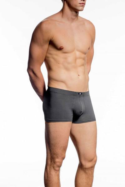 075 Charcoal - JM Athletix Pouch Boxer 04047 - Front View - Topdrawers Underwear for Men