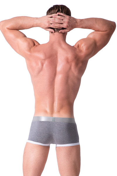 Dark Melange - Private Structure Spectrum X Trunk SXUZ3682 - Rear View - Topdrawers Underwear for Men