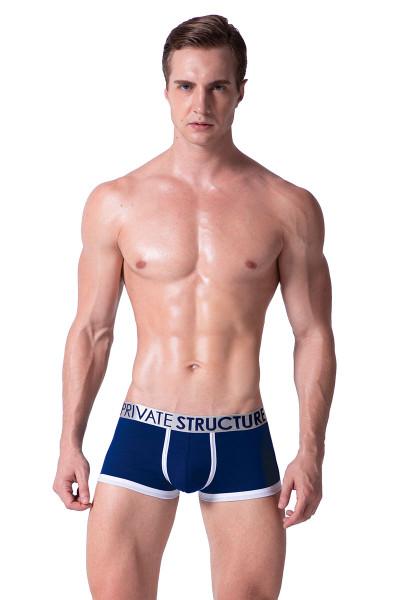 Navy - Private Structure Spectrum X Trunk SXUZ3682 - Front View - Topdrawers Underwear for Men