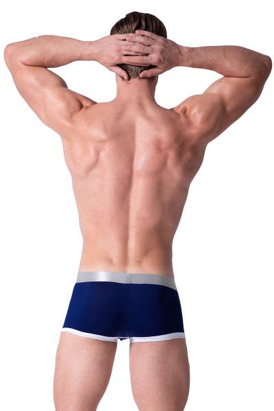 Navy - Private Structure Spectrum X Trunk SXUZ3682 - Rear View - Topdrawers Underwear for Men