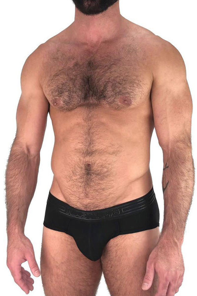 Black - Nasty Pig Advance Brief 5593 - Front View - Topdrawers Underwear for Men