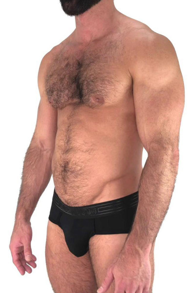 Black - Nasty Pig Advance Brief 5593 - Side View - Topdrawers Underwear for Men