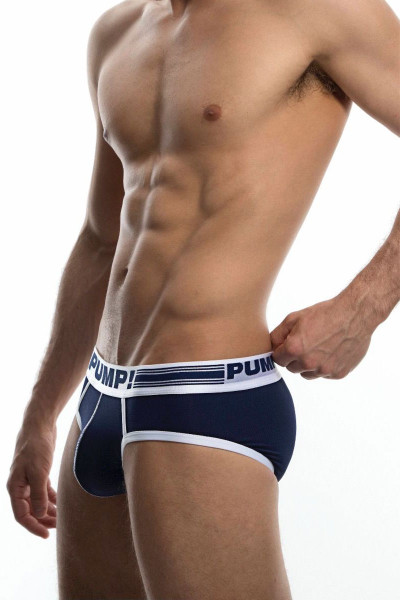 PUMP! Sailor Brief 12045 - Front View - Topdrawers Underwear for Men