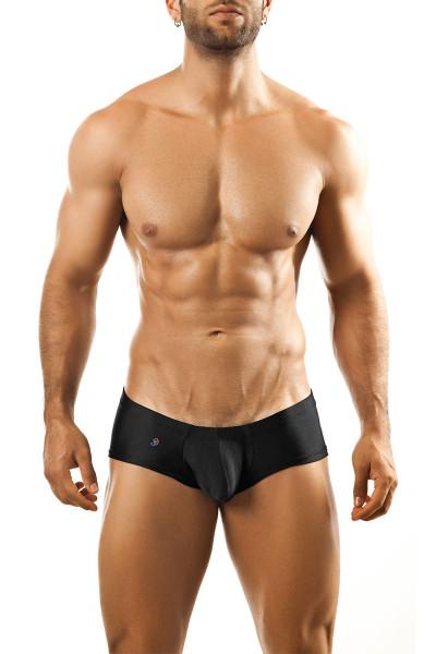 Black - Joe Snyder Bulge Boxer JSBUL-03 - Front View - Topdrawers Underwear for Men