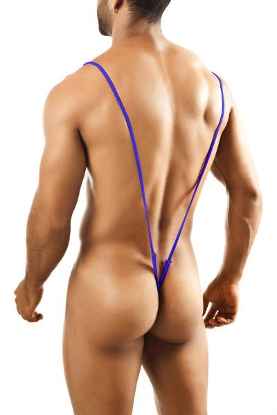 Purple - Joe Snyder Body String JS27 - Rear View - Topdrawers Underwear for Men