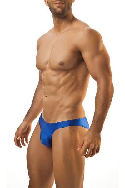 Royal Blue - Joe Snyder Bikini Brief JS01 - Front View - Topdrawers Underwear for Men