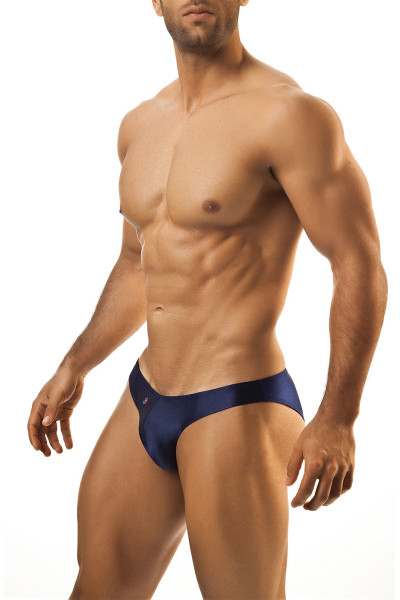 Navy - Joe Snyder Bikini Brief JS01 - Front View - Topdrawers Underwear for Men