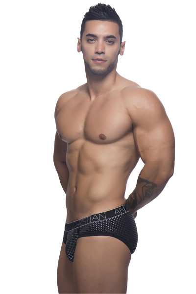 Andrew Christian Glam Brief w/ Almost Naked 90869 - Side View - Topdrawers Underwear for Men