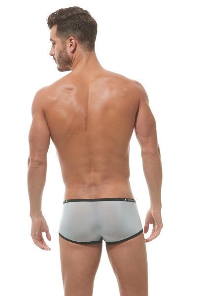 Sky Blue - Gregg Homme Bubble G'Homme Boxer 162105 - Rear View - Topdrawers Underwear for Men