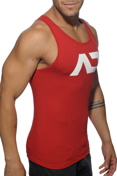 f6072bcb1d48c7 ... Addicted Basic AD Tank Top AD457-06 Red - Mens Athletic Tank Tops - Side