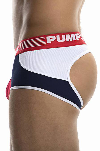 PUMP! Academy Access Trunk 15037 - Mens Jock Trunk Boxer Briefs - Side View - Topdrawers Underwear for Men