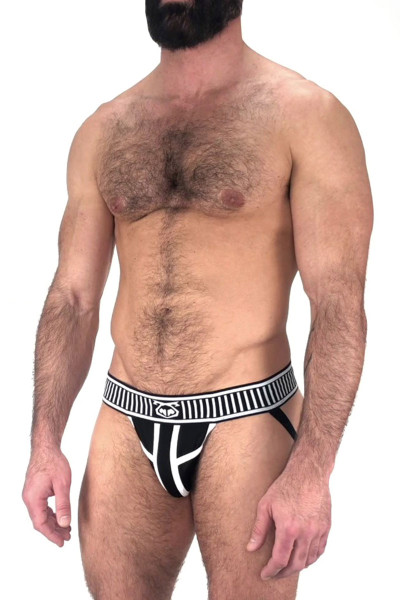 Nasty Pig Trackd Jock Strap 5598 - Black - Mens Jockstraps - Side View - Topdrawers Underwear for Men