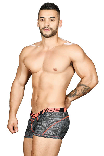 Andrew Christian Vibe Precision Boxer 91035 - Side View - Topdrawers Underwear for Men
