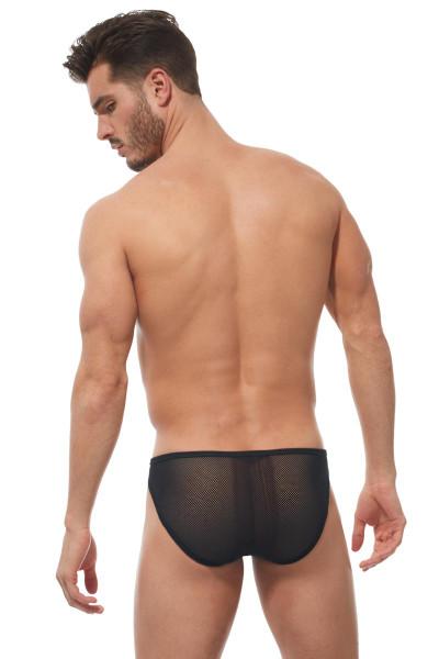 Gregg Homme Strap Brief 170203 - Mens Fetish Briefs - Rear View - Topdrawers Underwear for Men