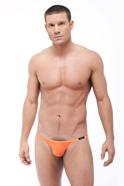 Gregg Homme Torridz Thong 87404 - Orange - Mens Thongs - Front View - Topdrawers Underwear for Men