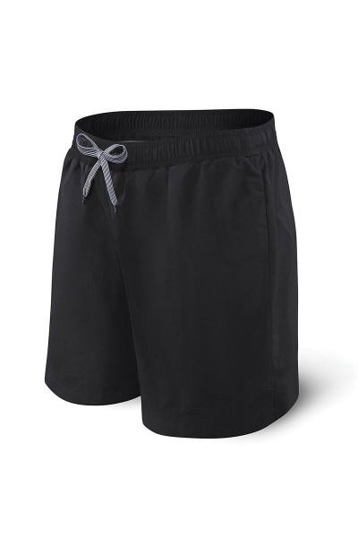 "Saxx Cannonball 2N1 Swim Short 7"" SXSS30-BBB - Mens Swim Shorts - Front View - Topdrawers Swimwear for Men"