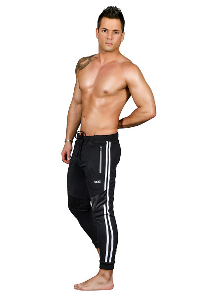 Andrew Christian Vibe Pure Training Pants 4141 - Mens Athletic Pants - Side View - Topdrawers Clothing for Men