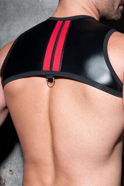 Addicted Fetish Rub Stripe Harness ADF110-06