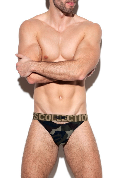 ES Collection Double Opening Mesh Jock UN331-17
