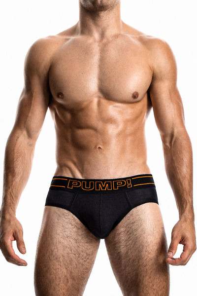 PUMP! NightLight Brief 12050 - Mens Briefs - Front View - Topdrawers Underwear for Men