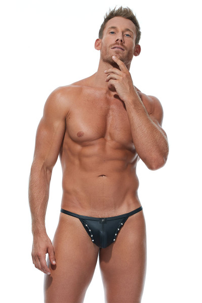 Gregg Homme Scorpio Pouch String 173214 - Mens G-String Thongs - Front View - Topdrawers Underwear for Men