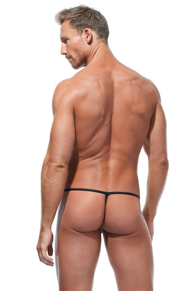 Gregg Homme Torridz String 87414-BUR Burgundy - Mens G-String Thongs - Rear View - Topdrawers Underwear for Men