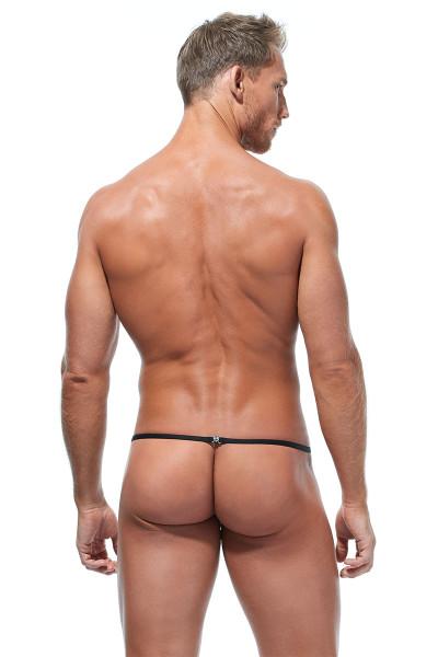 Gregg Homme Torridz Pouch Cockring 87416-BUR Burgundy - Mens Pouches - Rear View - Topdrawers Underwear for Men