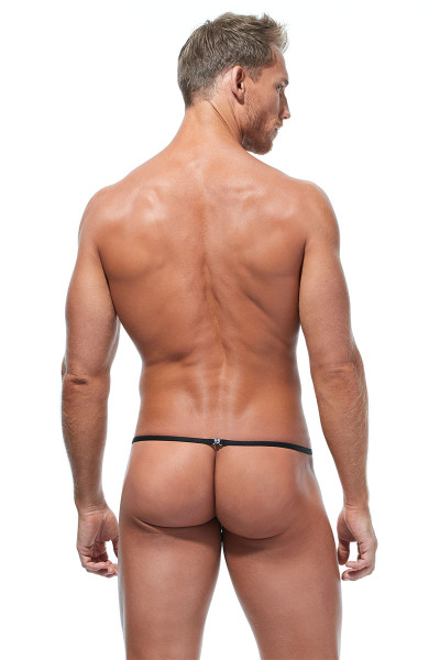 Gregg Homme Torridz Pouch Cockring 87416-BUR Burgundy - Mens Pouches - Rear View - Topdrawers Underwear for Men