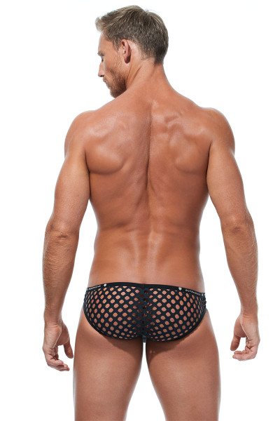 Gregg Homme Lava Brief 172203 - Mens Briefs - Rear View - Topdrawers Underwear for Men
