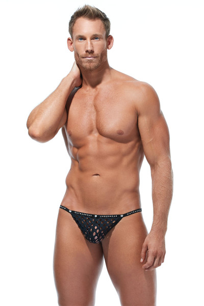 Gregg Homme Lava Pouch Cockring 172216 - Mens Pouches - Front View - Topdrawers Underwear for Men