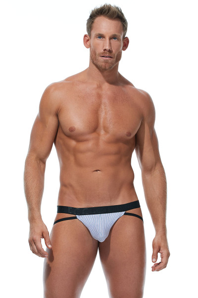 Gregg Homme Feel It Jock 172834-OR Orange - Mens Jockstraps - Front View - Topdrawers Underwear for Men