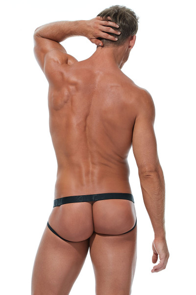Gregg Homme Feel It Jock 172834-OR Orange - Mens Jockstraps - Rear View - Topdrawers Underwear for Men