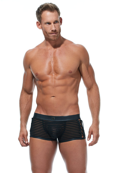 Gregg Homme Jailhouse Boxer Brief #2 173015 - Mens Boxer Briefs - Front View - Topdrawers Underwear for Men