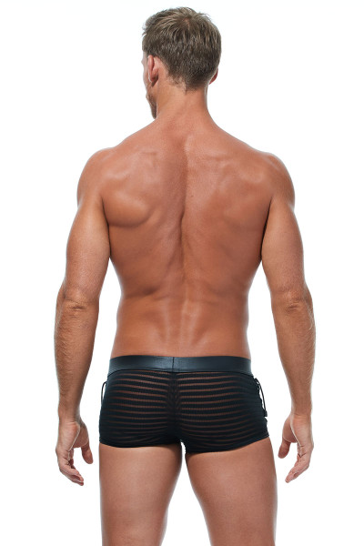 Gregg Homme Jailhouse Boxer Brief #2 173015 - Mens Boxer Briefs - Rear View - Topdrawers Underwear for Men