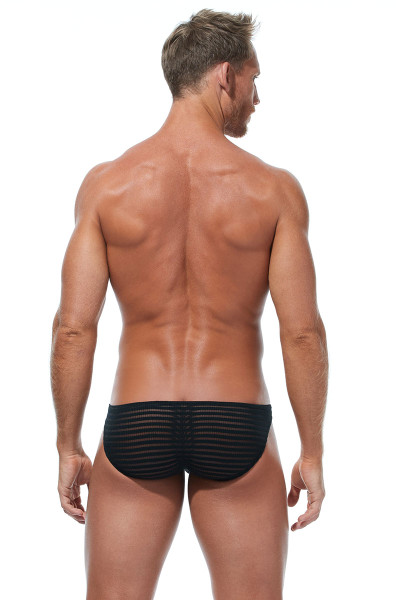 Gregg Homme Jailhouse Brief 173003 - Mens Briefs - Rear View - Topdrawers Underwear for Men
