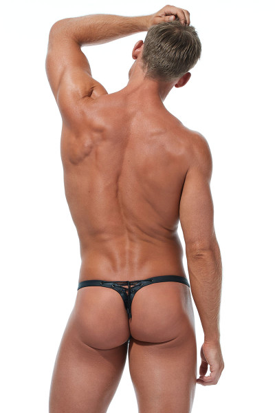 Gregg Homme Jailhouse Thong #2 173024 - Mens Fetish Thongs - Rear View - Topdrawers Underwear for Men