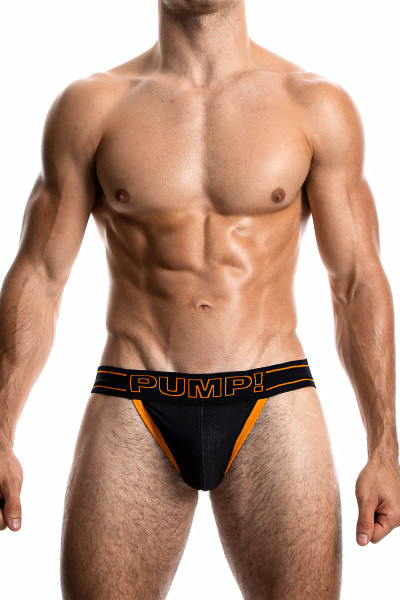 PUMP! NightLight Jock 15043 - Mens Jockstraps - Front View - Topdrawers Underwear for Men