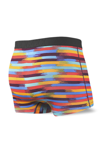 Saxx Undercover Trunk w/ Fly | Reflective Stripe SXTR19F-RRS - Mens Boxer Briefs - Rear View - Topdrawers Underwear for Men