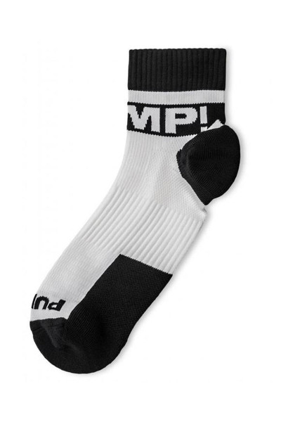 PUMP! All-Sport B&W Socks 41006 - Mens Socks - Front View - Topdrawers Underwear for Men