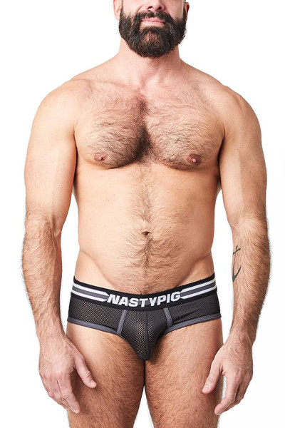 Nasty Pig Spitfire Brief 5627-BL - Mens Briefs - Front View - Topdrawers Underwear for Men