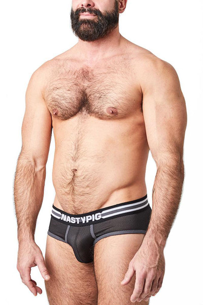 Nasty Pig Spitfire Brief 5627-BL - Mens Briefs - Side View - Topdrawers Underwear for Men