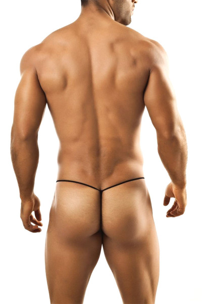 Joe Snyder G-String JS02-RD Red - Mens G-String Thongs - Rear View - Topdrawers Underwear for Men