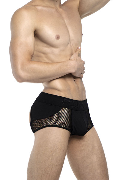 PUMP! Switch Access Trunk 15047 - Mens Jock Boxers - Side View - Topdrawers Underwear for Men