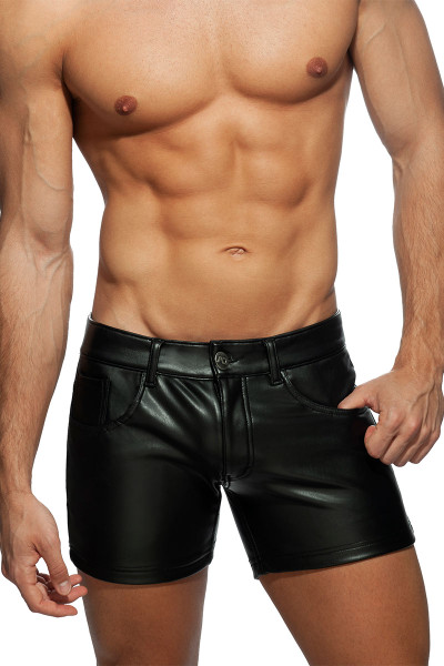 Addicted Fetish Shorts AD867 - Mens Shorts - Front View - Topdrawers Clothing for Men